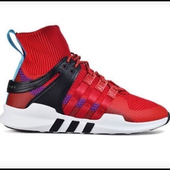 competitive price 52862 4241a Men's Adidas EQT Support ADV Red